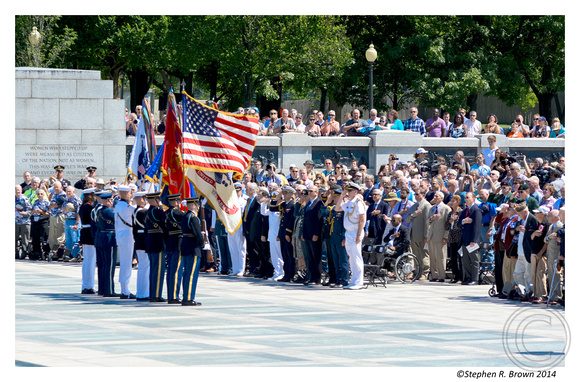 STEPHEN R. BROWN PHOTOGRAPHY: D-DAY WWII Memorial &emdash; Stephen R. Brown Photo
